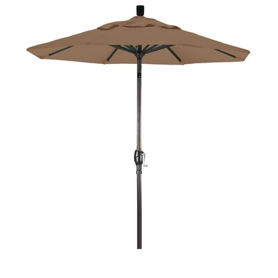 6 Market Umbrella Color: Canvas Teak