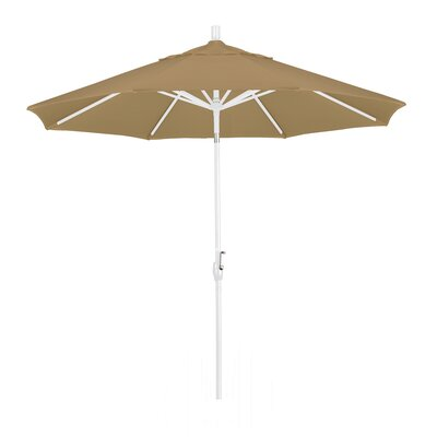 9' Market Umbrella Frame Finish: Matted White, Fabric: Champagne GSPT908170-F67