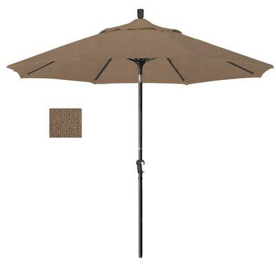 9' Market Umbrella Frame Finish: Bronze, Fabric: Woven Sesame SDAU908117-F76