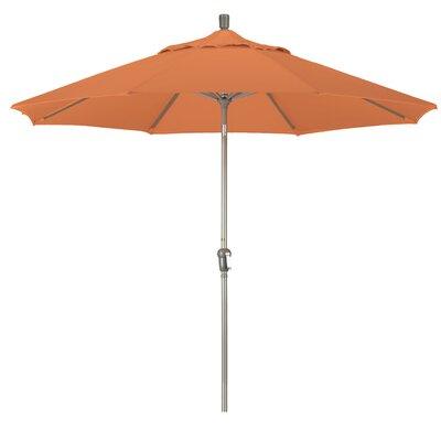 9' Pacifica Canopy Umbrella Frame Finish: Champagne, Fabric: Sunset SDAU908900-F27