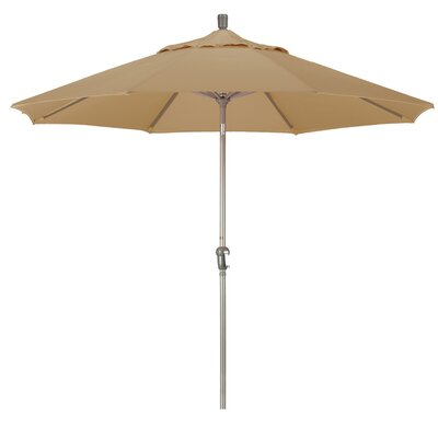 9' Pacifica Canopy Umbrella Frame Finish: Champagne, Fabric: Champagne SDAU908900-F67