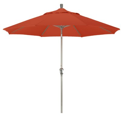 9' Market Umbrella Frame Finish: Champagne, Fabric: Terracota SDAU908900-F69