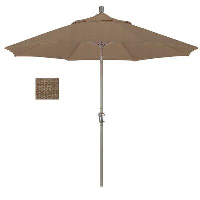 9' Market Umbrella Frame Finish: Champagne, Fabric: Woven Sesame SDAU908900-F76