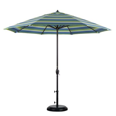 9 Sunline Market Umbrella Color: Seville Seaside