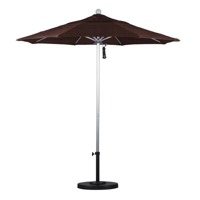 7.5 Market Umbrella Color: Terrace Adobe