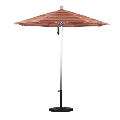7.5 Market Umbrella Frame Finish: Silver Anodized, Color: Dolve Mango