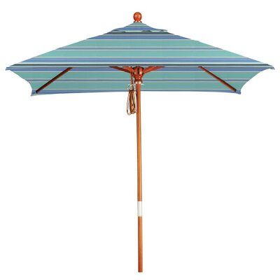 6 Square Market Umbrella Color: Dolce Oasis