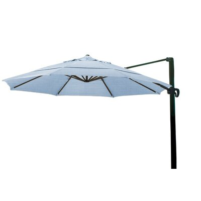 11 Cantilever Umbrella Color: Air Blue