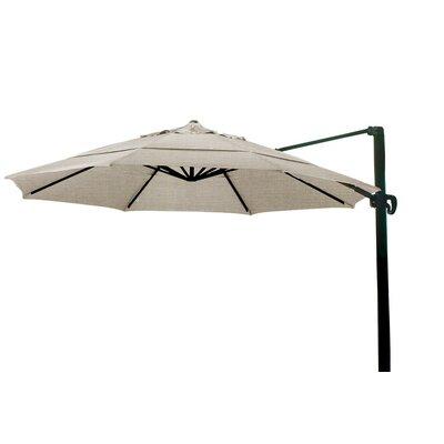 11 Cantilever Umbrella Color: Taupe