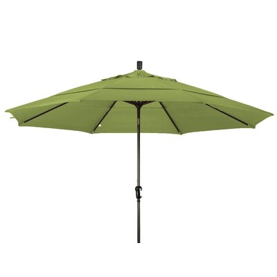 11 Market Umbrella Frame Finish: Champagne, Color: Kiwi