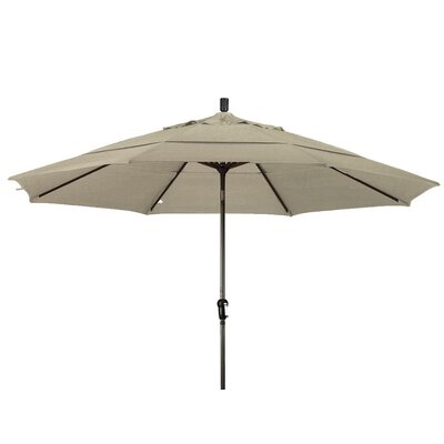 11 Market Umbrella Frame Finish: Champagne, Color: Antique Beige