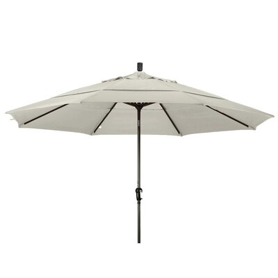 11 Market Umbrella Frame Finish: Bronze, Color: Beige