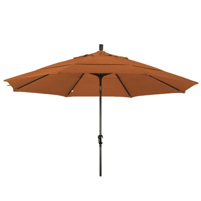 11 Market Umbrella Frame Finish: Bronze, Color: Tuscan