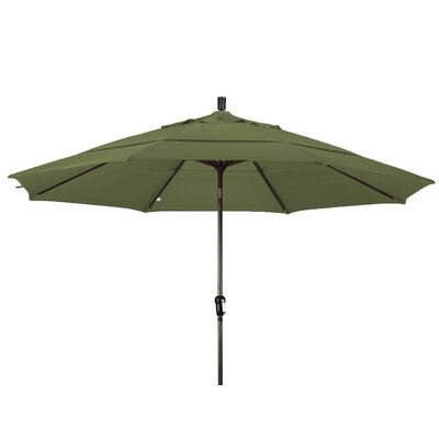 11 Market Umbrella Frame Finish: Champagne, Color: Palm