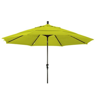 11 Market Umbrella Frame Finish: Bronze, Color: Ginkgo