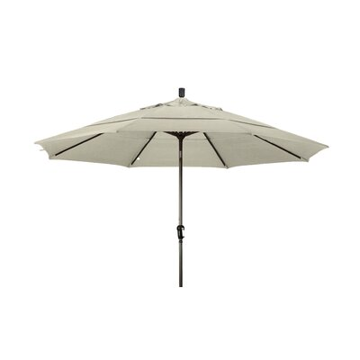 11 Market Umbrella Frame Finish: Champagne, Color: Canvas