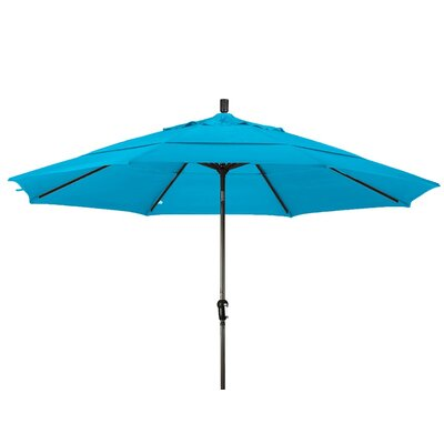 11 Market Umbrella Frame Finish: Bronze, Color: Capri