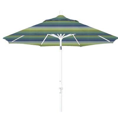 9 Market Umbrella Frame Finish: Matted White