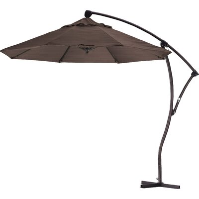 9 Cantilever Umbrella Fabric: Terrace sequoia
