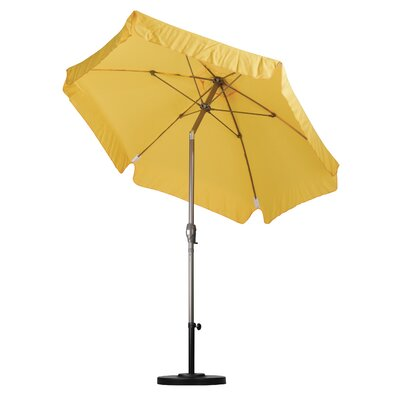 7.5 Drape Umbrella Fabric: Spun Polyester Yellow