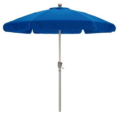 7.5 Drape Umbrella Fabric: Spun Polyester Pacific Blue