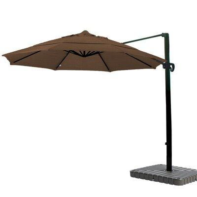 11 Cantilever Umbrella Fabric: Sunbrella-Cornsilk