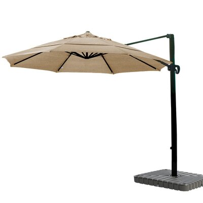 11 Cantilever Umbrella Fabric: Sunbrella A Cork