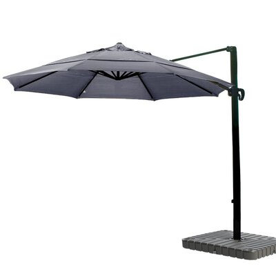 11 Cantilever Umbrella Fabric: Sunbrella A Navy