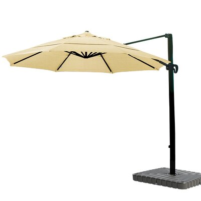 11 Cantilever Umbrella Fabric: Sunbrella A Wheat
