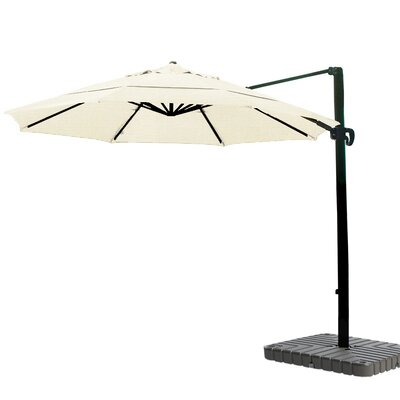 11 Cantilever Umbrella Fabric: Sunbrella A Canvas