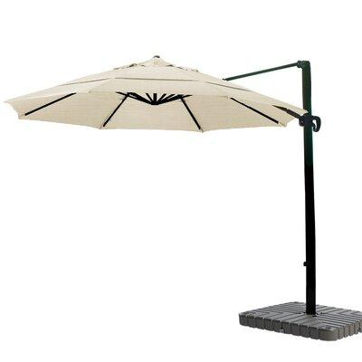 11 Cantilever Umbrella Fabric: Sunbrella A Antique Beige