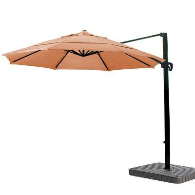 11 Cantilever Umbrella Fabric: Sunbrella AA Tuscan