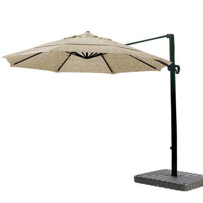 11 Cantilever Umbrella Fabric: Sunbrella AA Sesame Linen