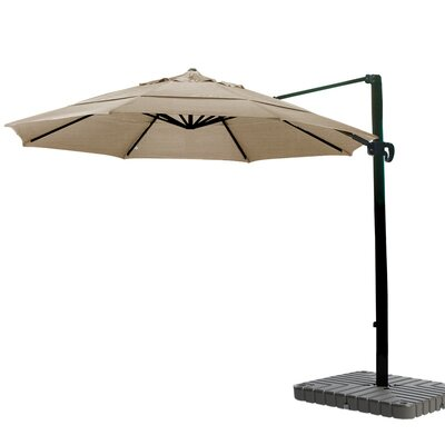 11 Cantilever Umbrella Fabric: Sunbrella A Cocoa
