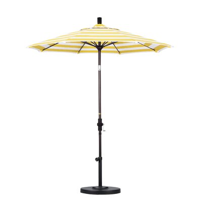 7.5 Market Umbrella Fabric: Citron