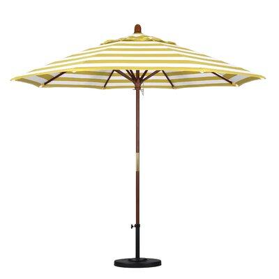 9 Mare Series Market Umbrella Fabric: Citron