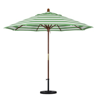 9 Mare Series Market Umbrella Fabric: Emerald