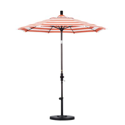 7.5 Market Umbrella Fabric: Flame
