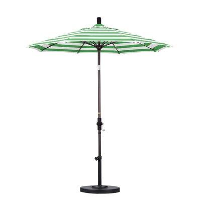 7.5 Market Umbrella Fabric: Emerald