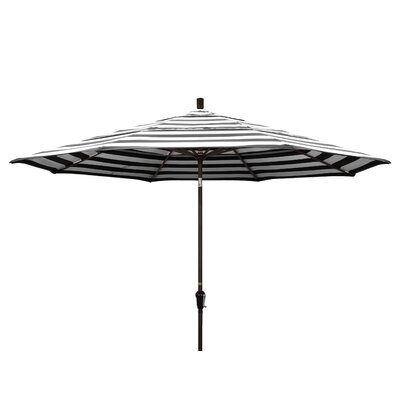 11' Market Umbrella Fabric: Classic, Frame Finish: Champagne