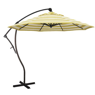 9 Cantilever Umbrella Fabric: Citron