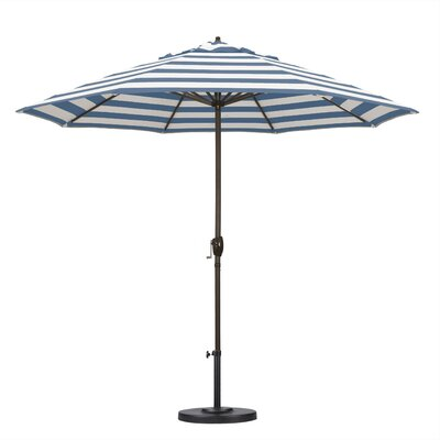 9 Market Umbrella Fabric: Regatta