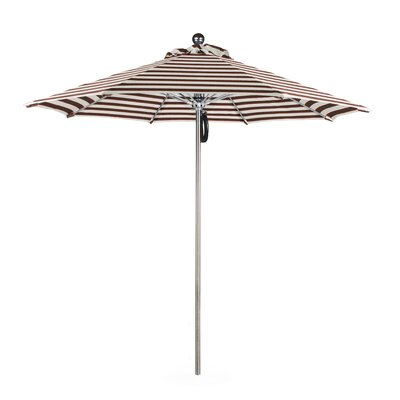 9 Luxy Series Market Umbrella Fabric: Olefin-Brick White