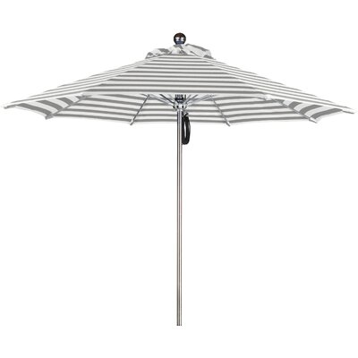 9 Luxy Series Market Umbrella Fabric: Olefin-Gray White