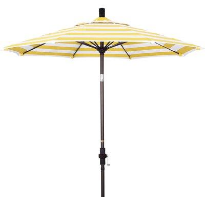 7.5 Market Umbrella Fabric: Citron