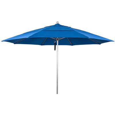 11 Market Umbrella Color: Pacific Blue