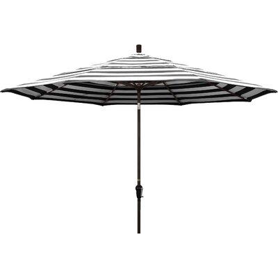 11 Market Umbrella Frame Finish: Bronze, Fabric: Classic
