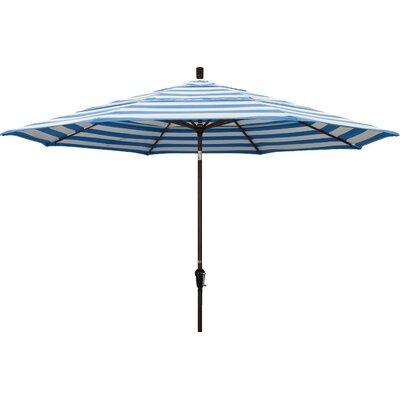 11 Market Umbrella Frame Finish: Bronze, Fabric: Regatta