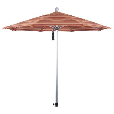 9 Market Umbrella Frame Finish: Silver Anodized, Color: Dolce Mango