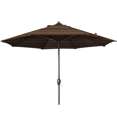9' Sunline Market Umbrella Color: Terrace Sequoia